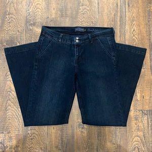 Curve appeal trouser